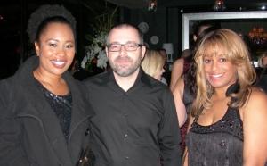 Me, James and my AKA Sorority sister Kenadie Cobbin-Richardson