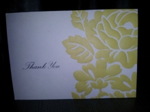 Thank You Card - Lisa Leishman Johnson