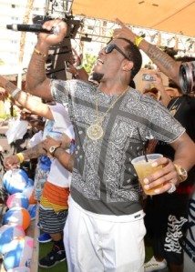 Diddy celebrates Memorial Day Weekend at Rehab at the Hard Rock Hotel in Las Vegas, NV
